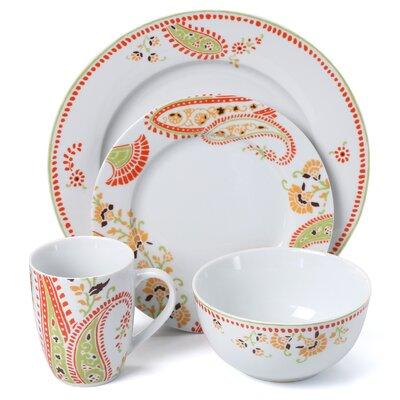 Rachael Ray Paisley 16 Piece Dinnerware Set