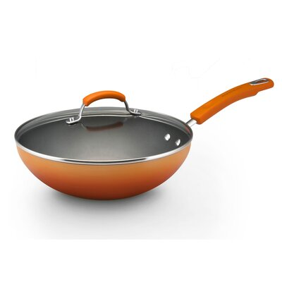 Porcelain II Non-Stick Frying Pan with Lid by Rachael Ray