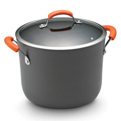 Hard Anodized II 10 Qt. Stock Pot with Lid by Rachael Ray