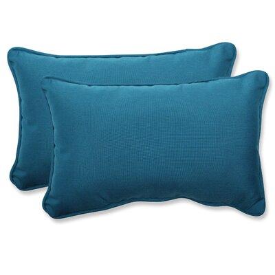 Spectrum Indoor/Outdoor Sunbrella Lumbar Pillow by Pillow Perfect