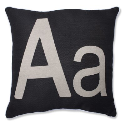 Initial Throw Pillow by Pillow Perfect