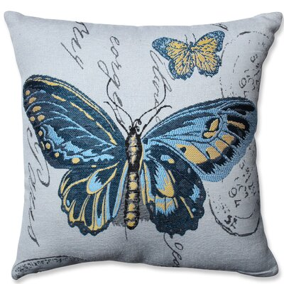 Butterfly Throw Pillow by Pillow Perfect