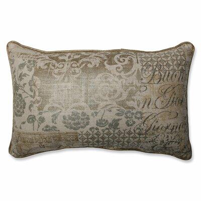 Documented Vermeil Lumbar Pillow by Pillow Perfect