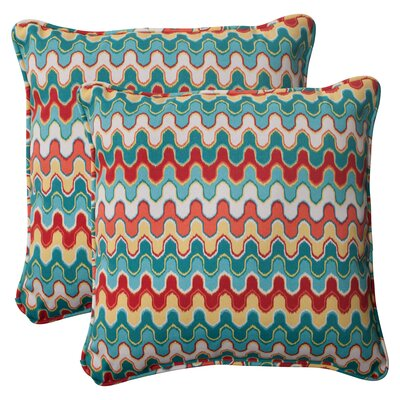 Pillow Perfect Nivala Corded Indoor/Outdoor Throw Pillow