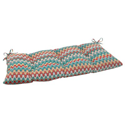 Pillow Perfect Nivala Outdoor Loveseat Cushion