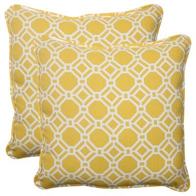 Pillow Perfect Rossmere Corded Indoor/Outdoor Throw Pillow