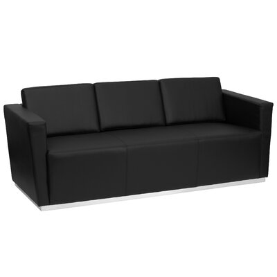 Flash Furniture FFC1645 Hercules Trinity Series Leather Sofa