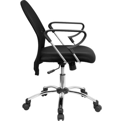 Flash Furniture Mid-Back Mesh Conference Chair with Chrome Base