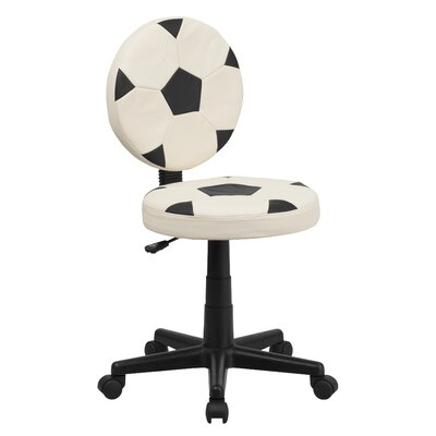 Flash Furniture Soccer Mid-Back Kid's Desk Chair