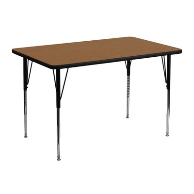 "Flash Furniture 48"" x 30"" Rectangular Classroom Table"