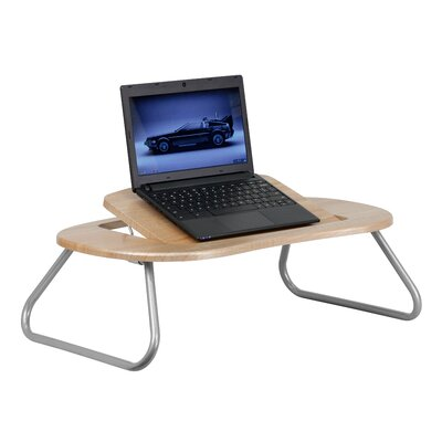 "Flash Furniture Angle 26"" W x 16"" D Laptop Training Table"
