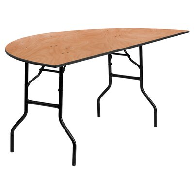 "Flash Furniture 72"" Semi Circle Folding Table"