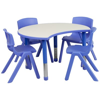 Flash furniture 35 5 x kidney classroom table for School furniture 4 less reviews