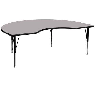 "Flash Furniture 96"" x 48"" Kidney Classroom Table"