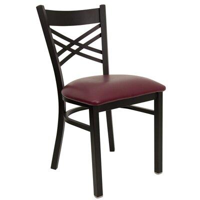 Flash Furniture Hercules Series  ''X'' Back Side Chair