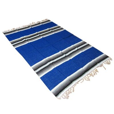 Deluxe Mexican Striped Blanket by OMSutra