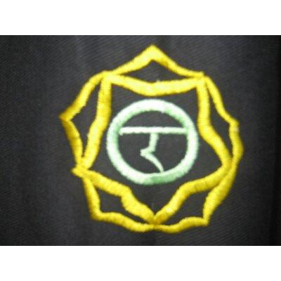 OMSutra Chakra Duffel Yoga Mat Bag in Black