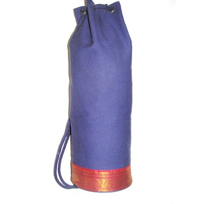 Dhyandeep Yoga Mat Bag in Dark Purple by OMSutra
