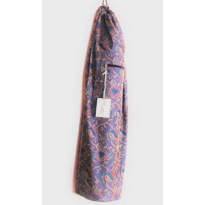 Saree Fabric Yoga Mat Bag by OMSutra