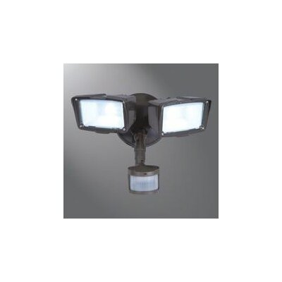 Cooper Lighting Twin Head LED Motion Wall Fixture & Reviews Wayfair