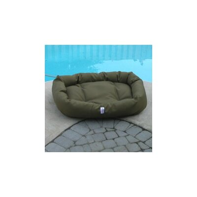 Outdoor Foam Donut Dog Bed by Mammoth