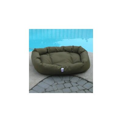 Outdoor Memory Foam Donut Dog Bed by Mammoth