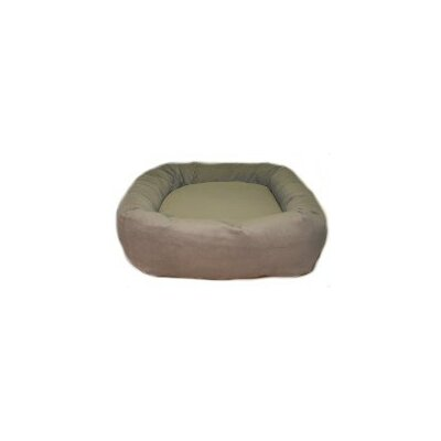 Oblong Memory Foam Donut Dog Bed by Mammoth
