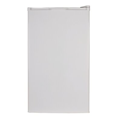 4 cu. ft. Top Freezer Refrigerator in White Product Photo