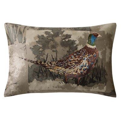 Hadley Bird Oblong Polyester Lumbar Pillow by Woolrich