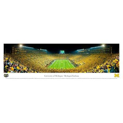 Blakeway Worldwide Panoramas, Inc NCAA University of Michigan by James Blakeway Photographic Print