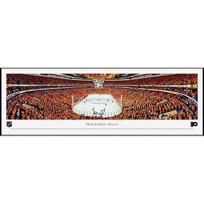 Blakeway Worldwide Panoramas, Inc NHL End Zone Standard Framed Photographic Print