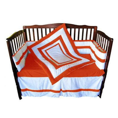 4 Piece Crib Bedding Set by BabyDoll Bedding