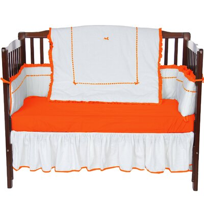 Unique 4 Piece Crib Bedding Set by BabyDoll Bedding