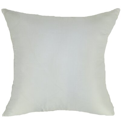 Knife Edge Silk Throw Pillow by Design Accents