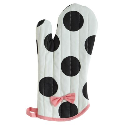 Dancing Dots Oven Mitt with Bow by Jessie Steele