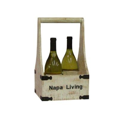 Antique Revival Napa Living 4 Bottle Wine Holder
