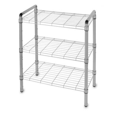 "Delta Design Art of Storage Quick Rack 18.62"" H 3 Shelf Shelving Unit"