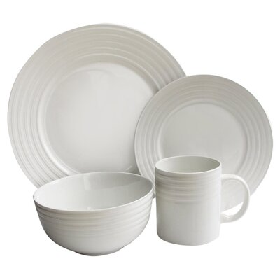 Waverly 16 Piece Dinnerware Set by American Atelier