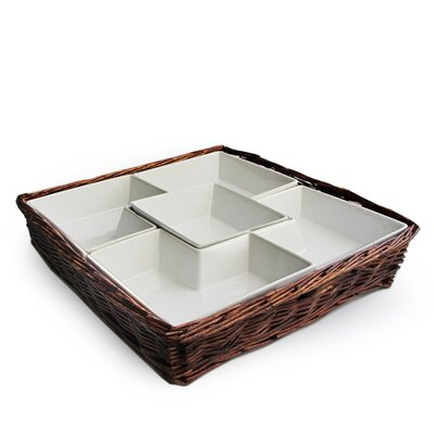 American Atelier Willow Chip & Dip Tray