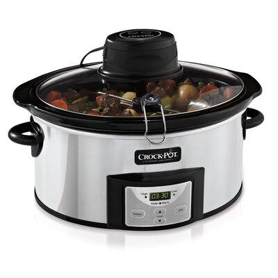 Digital 6 Qt. Slow Cooker with iStir™ by Crock-pot