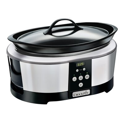 6 Qt. Smart Slow Cooker with WeMo® by Crock-pot