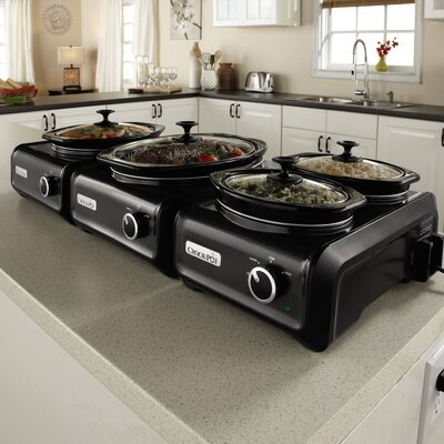 Hook Up® 1-Quart Connectable Entertaining System by Crock-pot