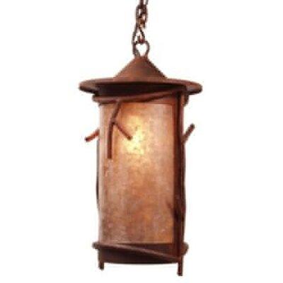 Steel Partners Sticks 1 Light Outdoor Hanging Lantern