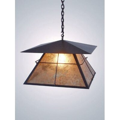 Steel Partners Lapaz 1 Light Swag Pendant