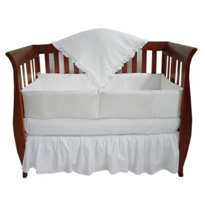 Heavenly Soft 4 Piece Crib Bedding Set by American Baby Company