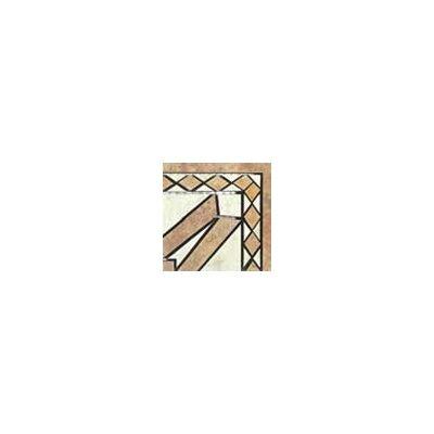 Interceramic Creekstone Universal Random Sized Ceramic Glazed Mosaic Tile in Multi Colored
