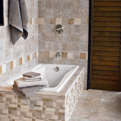 "Interceramic Montreaux 13"" x 13"" Ceramic Field Tile in Brun"