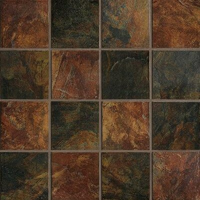 "Marazzi Imperial Slate 6"" x 6"" Ceramic Field Tile in Imperial Mix"
