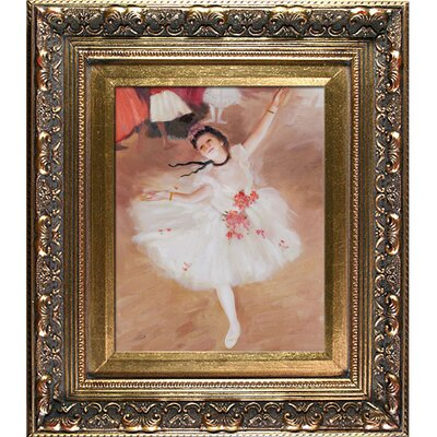 Degas Star Dancer (On Stage) Canvas Art by Tori Home