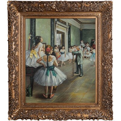 Degas The Dance Class Canvas Art by Tori Home